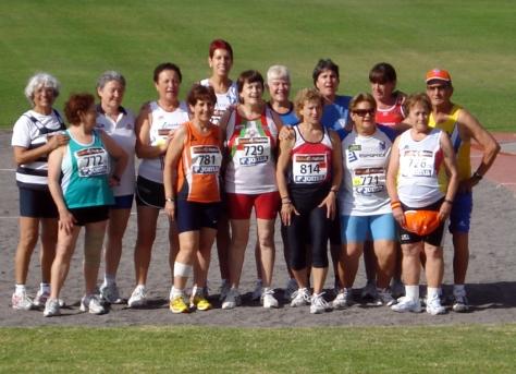 Participantes en Peso Arona 2010