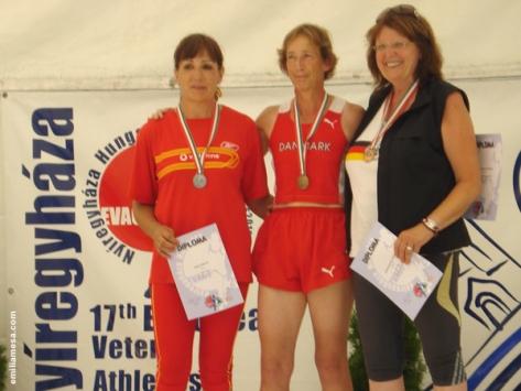 Podium Jabalina Hungria 2010