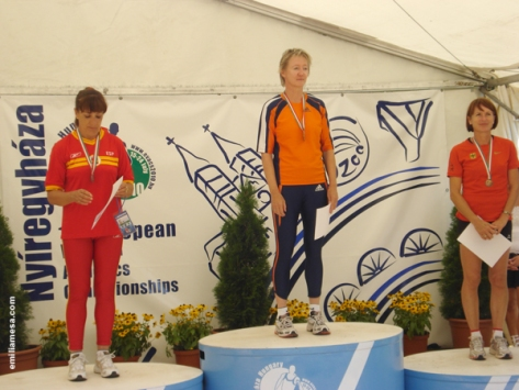 Podium Longitud Hungria 2010