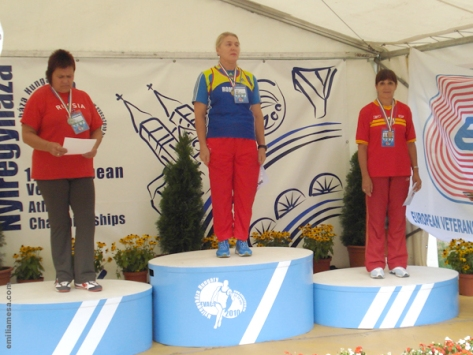 Podium Peso Hungria 2010