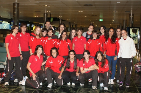 clube Ourense Academia Postal feminino