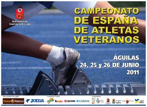 cartel campeonato de españa Águilas 2011