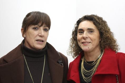 Con Ana María Abuín.